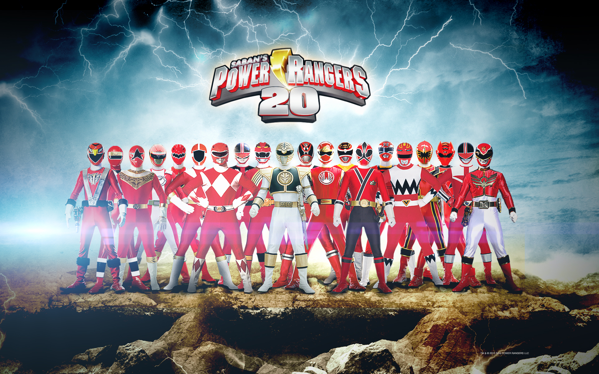 Power Rangers Megaforce Wallpaper