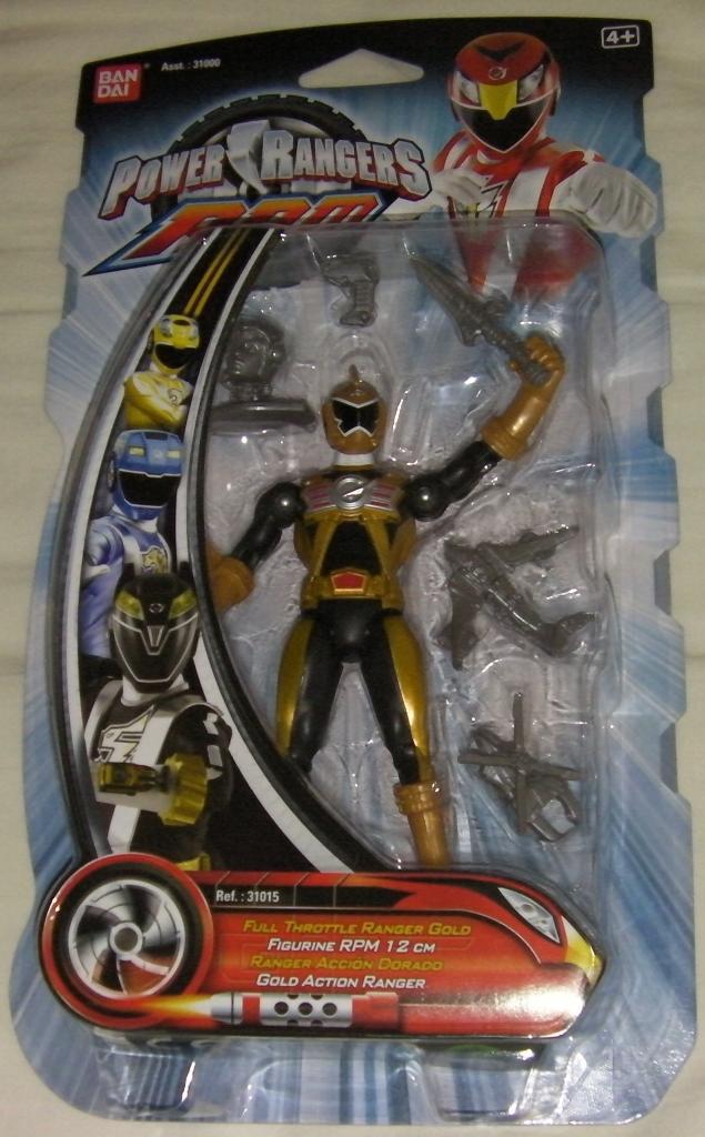 Power Rangers R P M Fu...